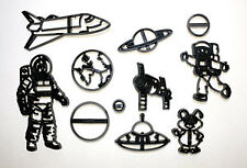 Patchwork Cutters SPACE SET Spaceman Rocket Planets Sugarcraft Cake Decorating