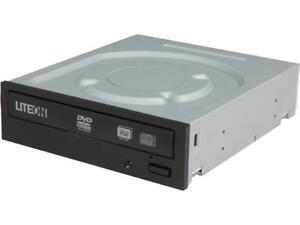 GENUINE LiteOn iHAS324 Internal 24x DVD±RW (±R DL) / DVD-RAM Drive Serial ATA