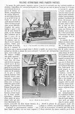 """"""" LA POSTE / BALANCE AUTOMATIQUE POUR PAQUETS POSTAUX  """" ADP DE T. OBALSKI 1901"""