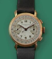 Vintage 1930s Vacheron Constantin 18k Rose Gold Chronograph Watch  Ref. 4072