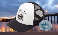 New Hurley Destination Huntington Beach Trucker Snapback Cap Hat