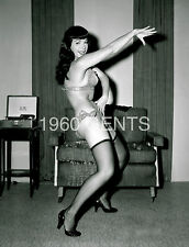 1950s NUDE 8X10 PHOTO BUSTY NICE ASS PINUP BETTIE PAGE FROM ORIGINAL NEG-1
