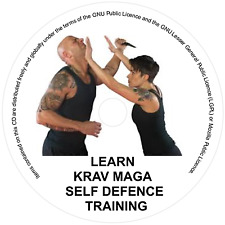 LEARN KRAV MAGA DVD - MEN WOMEN SELF DEFENCE STEP BYSTEP TRAINING COURSE/FITNESS
