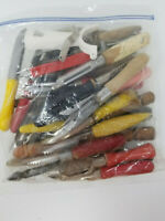 Set of 36 Vintage Fruit Vegetable Peelers Many Decades and Handles