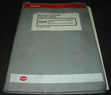 Werkstatthandbuch Karosserie Audi A8 D2 4D Quattro Montage Arbeiten Außen 1998