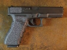 Black Textured Rubber Grip Enhancements for Glock Gen 3/Gen 4 Models 20, 21, 41
