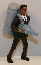 "2002 Alien Blastin' Agent J Jay 4"" Squirter Figure Burger King #5 Men In Black 2"