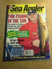 SEA ANGLER - BRISTOL CHANNEL SHARK HUNT - July 1999