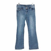 """Maurices """"Straight""""  Womens Medium Wash Jeans Size 1/2 Short Low Rise"""