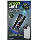 New Tzumi Smart Lens 8X Zoom Universal Clip-On Camera Lens 3813WM Black