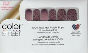 CS Nail Color Strips Rule of Plum 100% Nail Polish - Made in the USA!