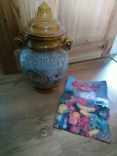 More details for extra large 6 litre sheurich rumtopf jar vintage punch pot rumpot