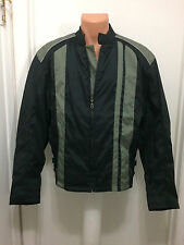 BIKER DESIGN mens motorcycle jacket water resistant size M