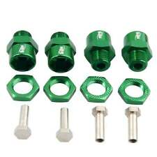 RC HSP Green Alum Wheel Hex Combine 12mm Turn 17mm Drive 4PC For 1/10 Buggy