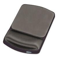 Fellowes Gel Mouse Pad w/Wrist Rest Nonskid 6 1/4 x 10 1/8 Platinum/Graphite