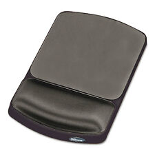 Fellowes Gel Mouse Pad w/Wrist Rest Nonskid 6 1/4 x 10 1/8 Platinum/Graphite