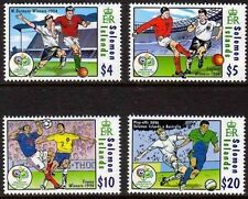 SOLOMON SALOMON ISL. 2006 1305-08 1052-55 Soccer WC Fußball WM Football GER MNH