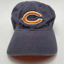 Chicago Bears Hat Cap Blue Adjustable Strapback Youth Kids Used Bl2