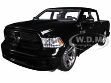 2014 DODGE RAM 1500 CUSTOM EDITION BLACK 1/24 DIECAST MODEL CAR BY JADA 54040