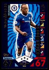 Match Attax 2016-2017 EXTRA Victor Moses Chelsea Update Card No. UC6