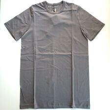 Rick Owens Dirt S/S 18 Short Sleeve Grey T-Shirt - Small | NWT