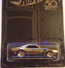 2018 Hot Wheels * '67 Camaro * 50th Anniversary * GOLD CHASE CAR VHTF ~ Low s&h