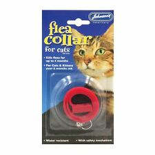 Johnsons Flea Collar Treatment Waterproof 4 Month Protection for Cats Kittens