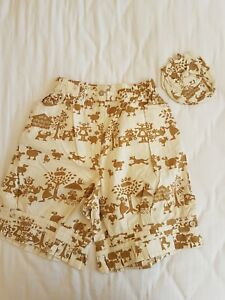 NEW OILILY GIRLS Unique GYPSOPHELIA MILKMAID cotton SHORTS 104 116 140 4 6 9/10