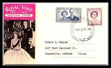 GP GOLDPATH: NEW ZEALAND SOUVENIR COVER 1953 _CV746_P05