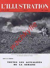 L'illustration n°5220 27/03/1943 Grignan soierie lyonnaise Tunisie Haute-Savoie