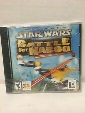 Star Wars: Episode I: Battle for Naboo LucasArts Archive Series (PC, 2001 sealed