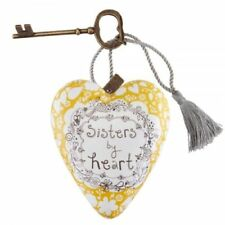 Demdaco Art Hearts Sisters By Heart Heart And Key Gift 1003480074