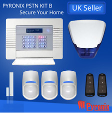 PYRONIX ENFORCER WIRELESS ALARM SYSTEM, DIGI WIFI-KIT- B Burglar Intruder Alert