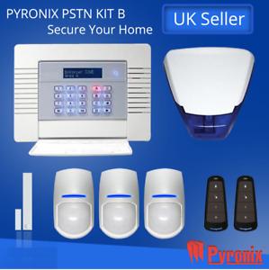 PYRONIX ENFORCER WIRELESS ALARM SYSTEM, DIGI WIFI-KIT- B Burglar Intruder Alert