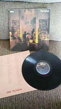 "ABBA THE VISITORS LP VINYL 12"" G+/VG SPANISH EDITION FIRST PRESS 1981 EPC 32324"