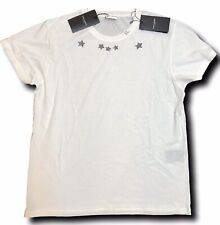 7a64a09d0ff 500$ Saint Laurent White Cotton T-Shirt 5 Stars Size Large Made in Italy