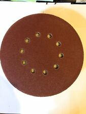 120 Grit 10 Holes Sanding Discs Paper 9 For Drywall Sander Lot Of 10 Hook Amploop