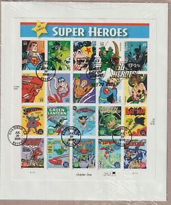 USA Super Heros, DC Comics 2005 auf FDC