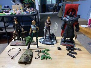 Danger Girl - Loose Lot Of 4 - McFarlane Action Figures - OPEN/incomplete