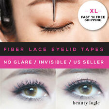 Original Invisible Fiber Lace Double Eyelid Tapes (XL)70Pieces+TOOLS *US SELLER*