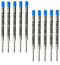 10 - Schmidt Ballpoint Refills for PARKER PEN - BLUE BOLD / BROAD POINT - 1.2mm