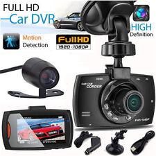 "2.7"" LCD FULL HD 1080P Car DVR Video Recorder Camera In Car Lens Night Vision US"