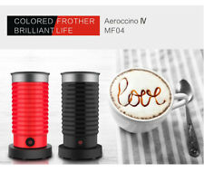 Coffee Nespresso Friend Milk Frother Hot Quick 1 Button Press Automatic Red/Blac