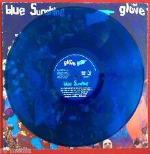 THE GLOVE (The Cure) -Blue Sunshine- Rare US Blue Vinyl LP / Banshees (Record)