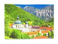 Kloster Ettal Bayern Foto Magnet Germany 8 cm Reise Souvenir