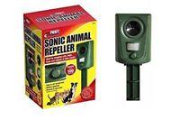 Sonic Animal Repeller Cat Fox Dog Rodent Motion Sensor Garden Animal Scarer