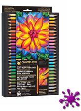 Chameleon Künstlerfarbstifte / 25 Farbstifte - 50 Farben