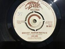 "Lois Lane, River Deep-Mountain High 7"" vinyl, Buk 1975"