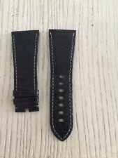 Cartier OEM Black Alligator Strap 29x22mm Tang