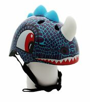 Kids Dinosaur Helmet Boys Safety Cycling Scooter Bike Helmet for ages 3 and up